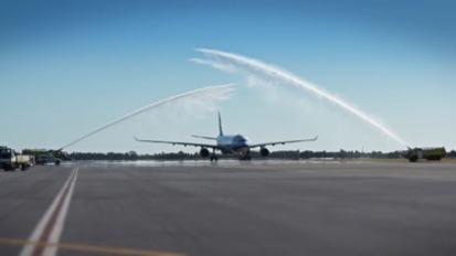 China Airlines InauguralFlight